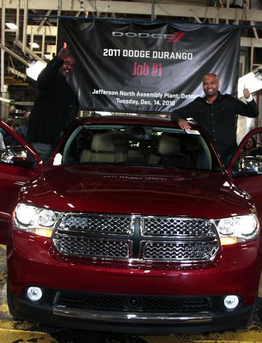 Chrysler Group LLC Celebrates Start of Production of 2011 Dodge Durango at its Jefferson North Assembly Plant.   ...