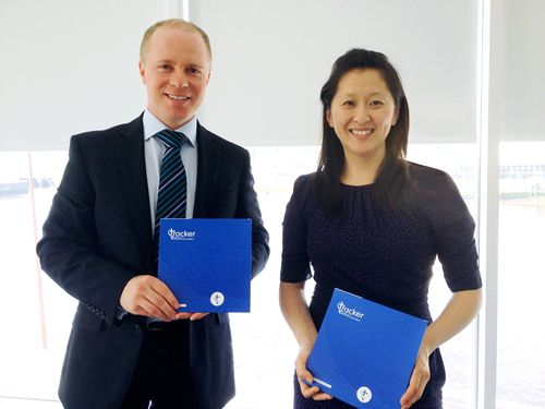 Simon Burges, Chief Operating Officer, Business Intelligence Division, BiP Solutions Ltd and Bec Ewing, Head of Customer Experience. (PRNewsFoto/BiP Solutions Ltd)