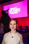 Hayley Williams wearing Maps pendant at Billboard Women in Music Awards.