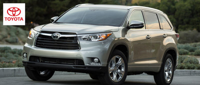 The 2014 Toyota Highlander and 2014 Toyota Sienna are two of the best options available for large families looking for a more comfortable way to get around. (PRNewsFoto/Toyota of Naperville)