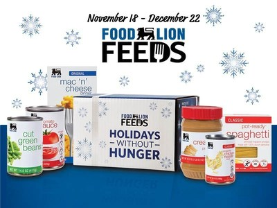 """Customers Can Purchase a $5 """"Holidays Without Hunger"""" Box at Checkout to Feed a Family this Holiday Season"""