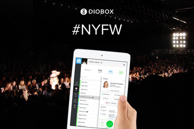 #NYFW Diobox at New York Fashion Week