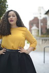 Tanesha Awasthi of Girl With Curves modeling PANDORA Jewelry (PRNewsFoto/PANDORA Jewelry)