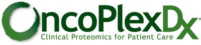 OncoPlex Diagnostics (http://www.oncoplexdx.com/), is a CAP-accredited, CLIA-certified oncology diagnostics laboratory linking clinical proteomics and genomics supporting personalized patient care.  (PRNewsFoto/OncoPlex Diagnostics)