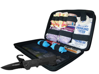 Auto Survival Kit.  (PRNewsFoto/StatGear, Inc.)