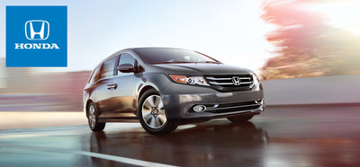 Full of top of the line features and family friendly designs, the 2014 Honda Odyssey is the the definition of a family minivan. (PRNewsFoto/Matt Castrucci Honda)