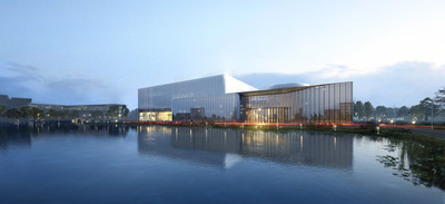 The Future Energy Pavilion built by GCL, located in Suzhou, China