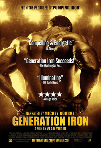 GENERATION IRON IN THEATERS NOW.  (PRNewsFoto/Vladar Co)