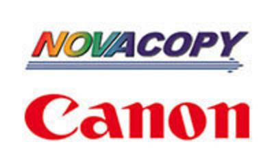 NovaCopy Partners With Canon U.S.A., Inc. as Authorized Dealer
