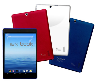 E FUN Nextbook 8 Android tablets in limited edition colors for back to school. Available now at Walmart.