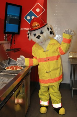 Domino's and the National Fire Protection Association are teaming up for the ninth year in a row to deliver fire safety messages to homes across the nation during Fire Prevention Week (Oct. 9-15). Customers who order from participating Domino's stores throughout the U.S. during this week may be surprised when their delivery arrives aboard a fire engine. If the smoke alarms in the home are working, the pizza is free. If the smoke alarms are not working, the firefighters will replace the batteries or install fully-functioning detectors.