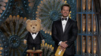 Ted and Mark Wahlberg present at the Oscars(R)  (PRNewsFoto/Tippett Studio, Universal Pictures/Tippett Studio)
