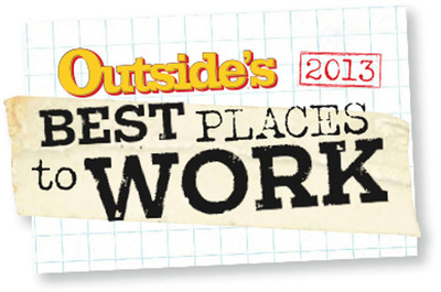 Outside's Best Places to Work.  (PRNewsFoto/TrackVia)