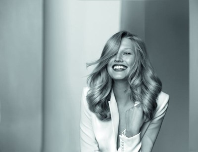Toni Garrn in Kerastase's new campaign Very Personal Care for Exceptional Hair (PRNewsFoto/Kerastase)