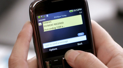 Ameren customers can now receive alerts by text and email.  (PRNewsFoto/Ameren Corporation)