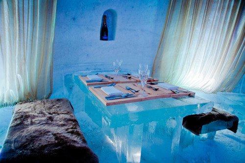 Pommery Restaurant at the Snow Village InterContinental Montreal's Executive Chef Matthieu Saunier will ...