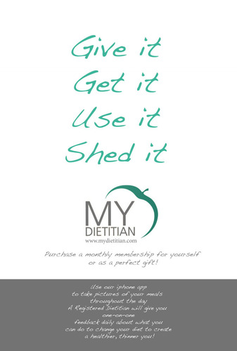 Dietitian - Give the Gift of Health.  (PRNewsFoto/My Dietitian, LLC)