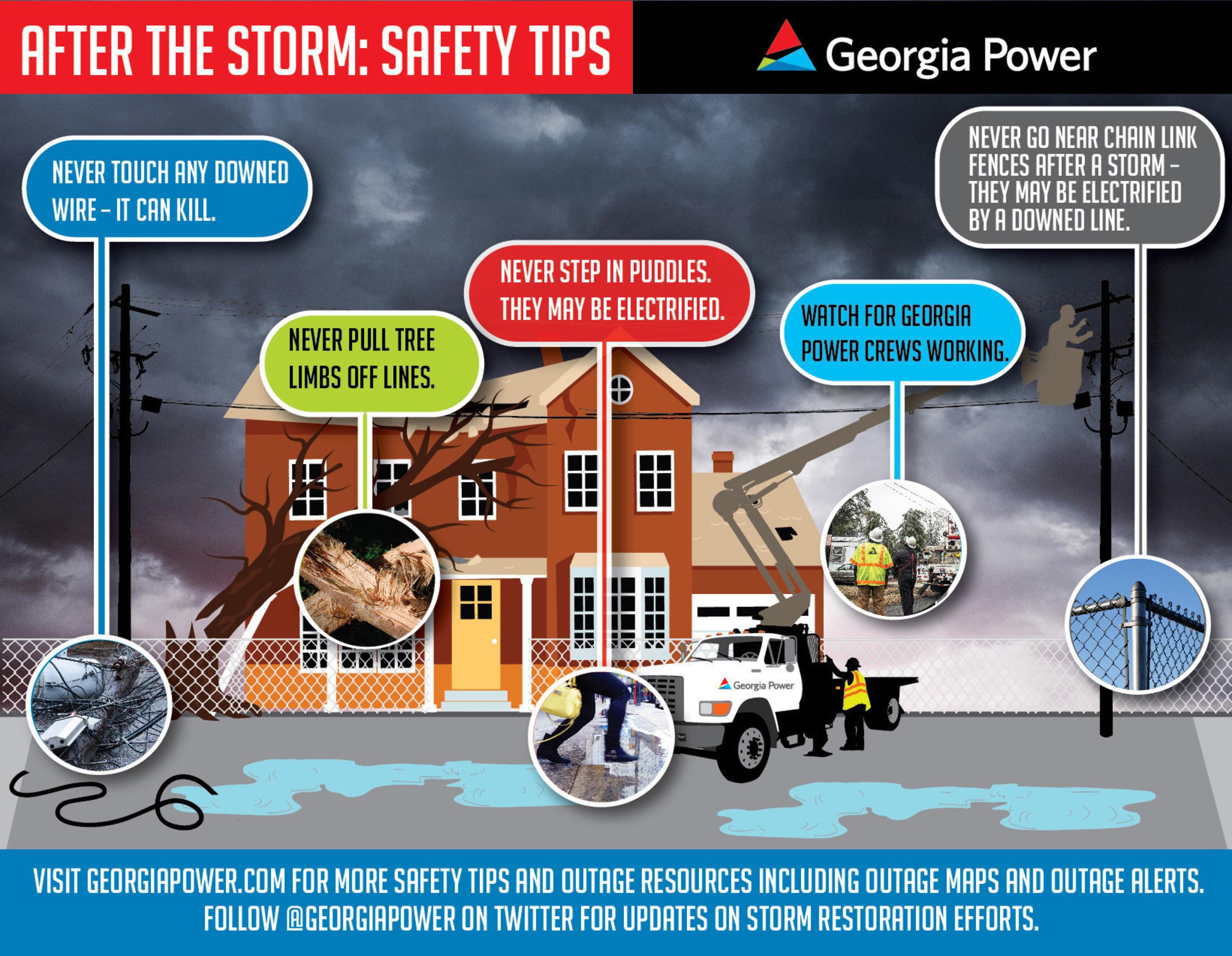 Georgia Power Begins Hurricane Matthew Restoration Efforts