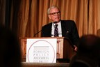 Tom Brokaw introducing Louis Bacon at the Foreign Policy Association annual dinner.