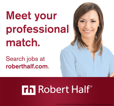 Robert Half releases 2015 Salary Guides! Visit roberthalf.com/salary-guides.