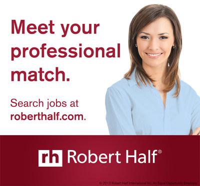 Robert Half releases 2015 Salary Guides! Visit roberthalf.com/salary-guides. (PRNewsFoto/Robert Half)