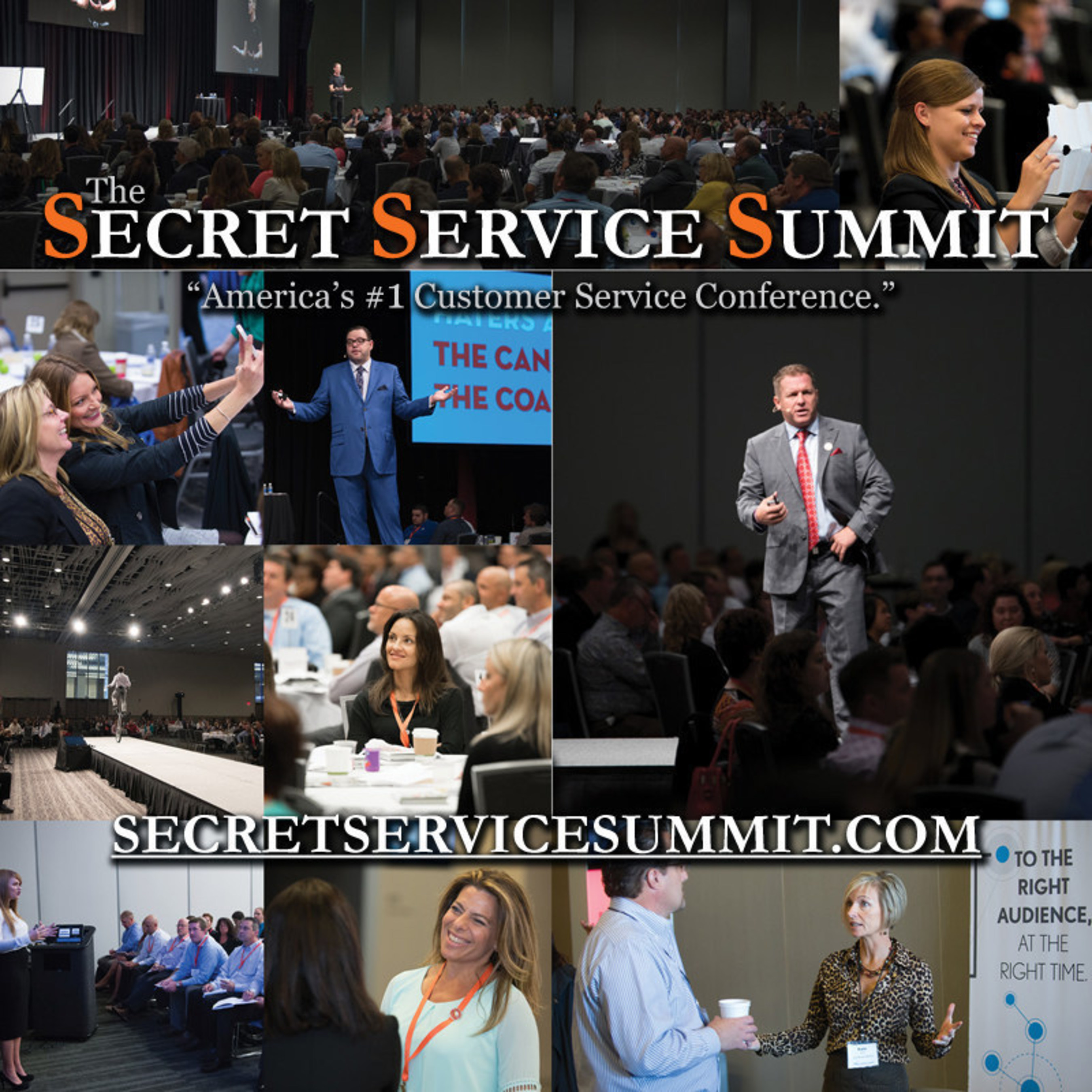 Top Customer Experience Leaders Gather for Secret Service Summit Conference in Cleveland