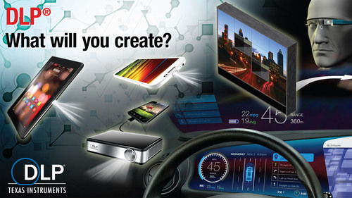 What Will You Create With Texas Instruments DLP(R) Technology? (PRNewsFoto/Texas Instruments DLP Products) ...