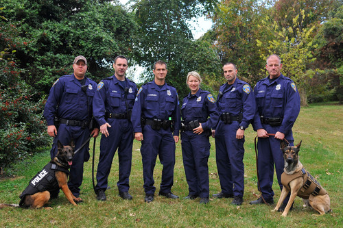 PetArmor(R), known for its veterinarian-quality products that protect dogs and cats from fleas and ticks, is now also helping to protect the K-9's who help keep the country safe. PetArmor's(R) donation of bullet and stab protective vests in Maryland has outfitted seven K-9s from the Baltimore Police Department.  (PRNewsFoto/PetArmor)