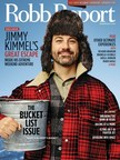 Jimmy Kimmel Featured on February 'Bucket List' Issue of Robb Report