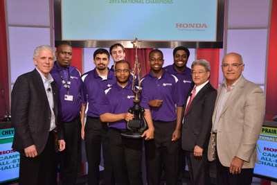 Prairie View A&M, 2015 Honda Campus All-Star National Champions.