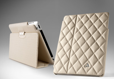 Vaja's luxury leather cases for tablets and smartphones will be sold as part of Case-Mate's fashion-forward portfolio.  (PRNewsFoto/Case-Mate)