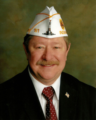 Michael J. Miller, Mishawaka, was elected State Commander of the 100,000-member Indiana American Legion during the veterans' organization's 93rd annual convention in Indianapolis July 16.  (PRNewsFoto/American Legion Department of Indiana)