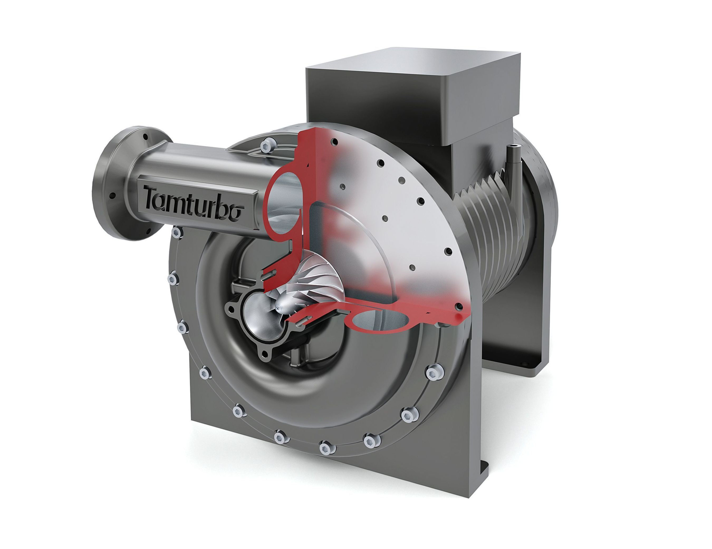 Tamturbo's direct drive, high-speed turbo compressor has raised unprecedentedly wide demand in the compressed air business worldwide. It confirms that the industry is experiencing its biggest technological change for decades. (PRNewsFoto/Tamburbo OY)