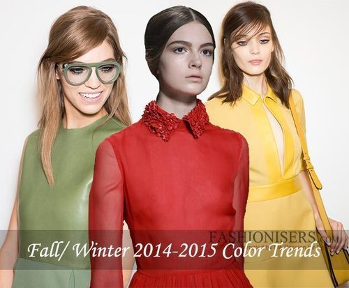 Fall/Winter 2014-2015 Color Trend Report By Fashionisers (PRNewsFoto/Fashionisers.com)