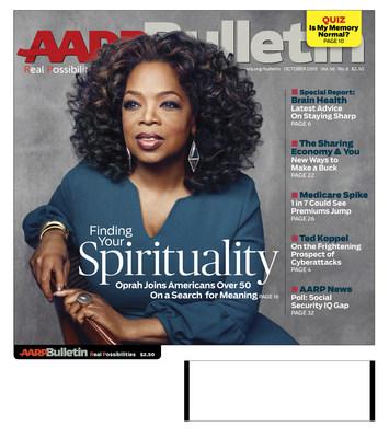 AARP Bulletin October Cover