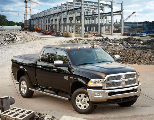 2014 Ram Heavy Duty -- The King of Capability Offers Exclusive Air Suspension and an All-new