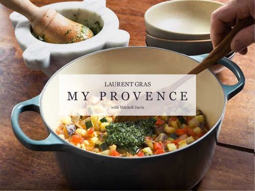 Award-Winning Chef Laurent Gras Releases First Cookbook as Interactive e-Book