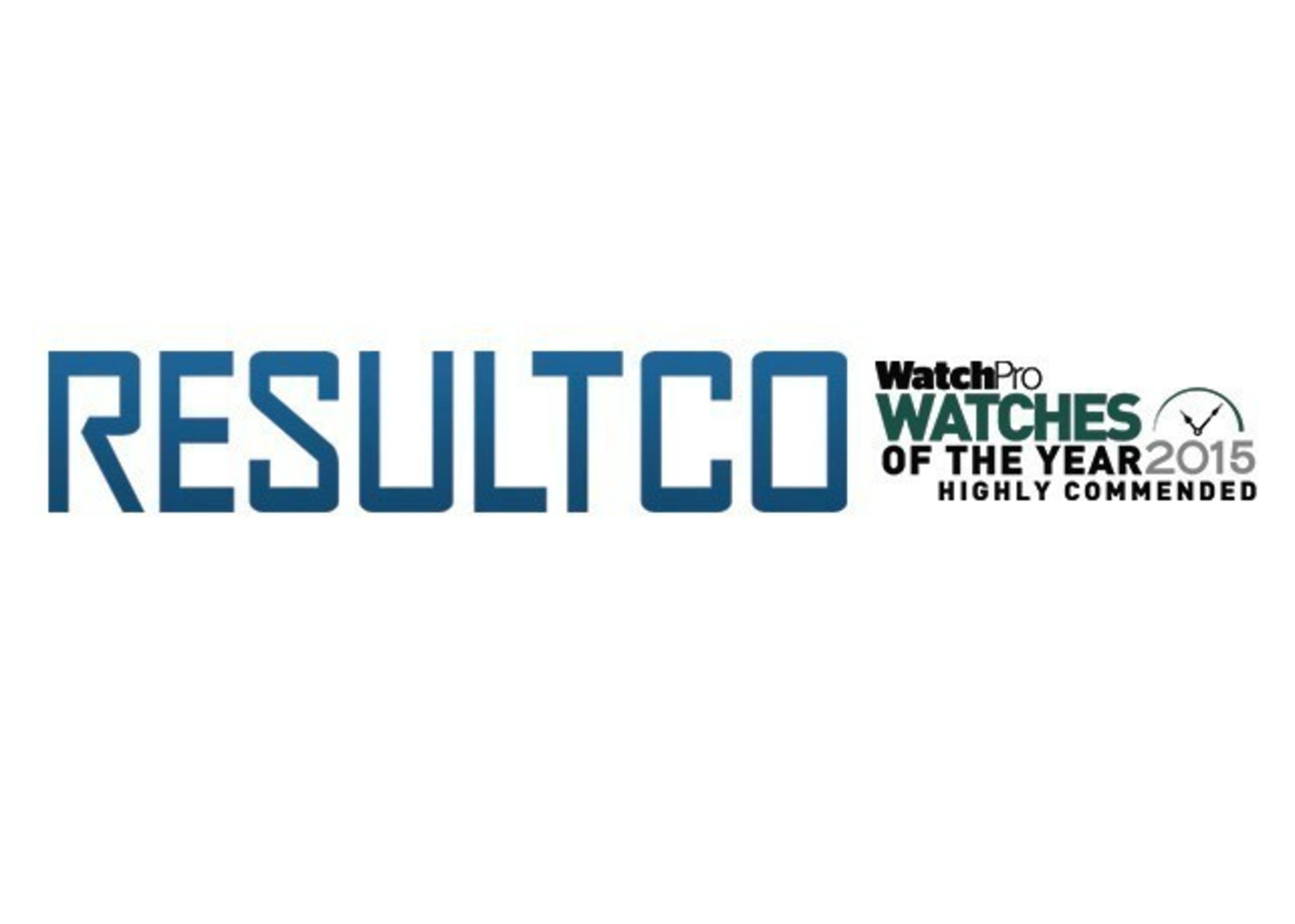 WatchPro Magazine Highly Commended RESULTCO as Rising Star of the Year 2015
