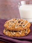 The Maple Oatmeal Raisin Cookie will be served in restaurants starting Monday, June 23, 2014. A mixture of real maple syrup and cinnamon makes a sweet maple glaze that is drizzled on top of each cookie. On June 25, a donation will be made to the Boys & Girls Clubs of America for every cookie given away during Max & Erma's Free Cookie Wednesday event. (PRNewsFoto/Max & Erma's)