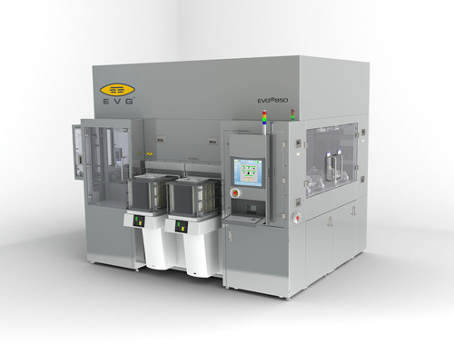 EV Group Unveils Industry's First Wafer Bonding System for 450-mm Silicon-on-Insulator