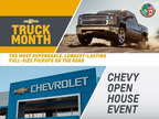 Plenty of time remains for Cavender Chevrolet customers to take part in Chevy Truck Month and the Chevy Open House Event.  (PRNewsFoto/Cavender Chevrolet)