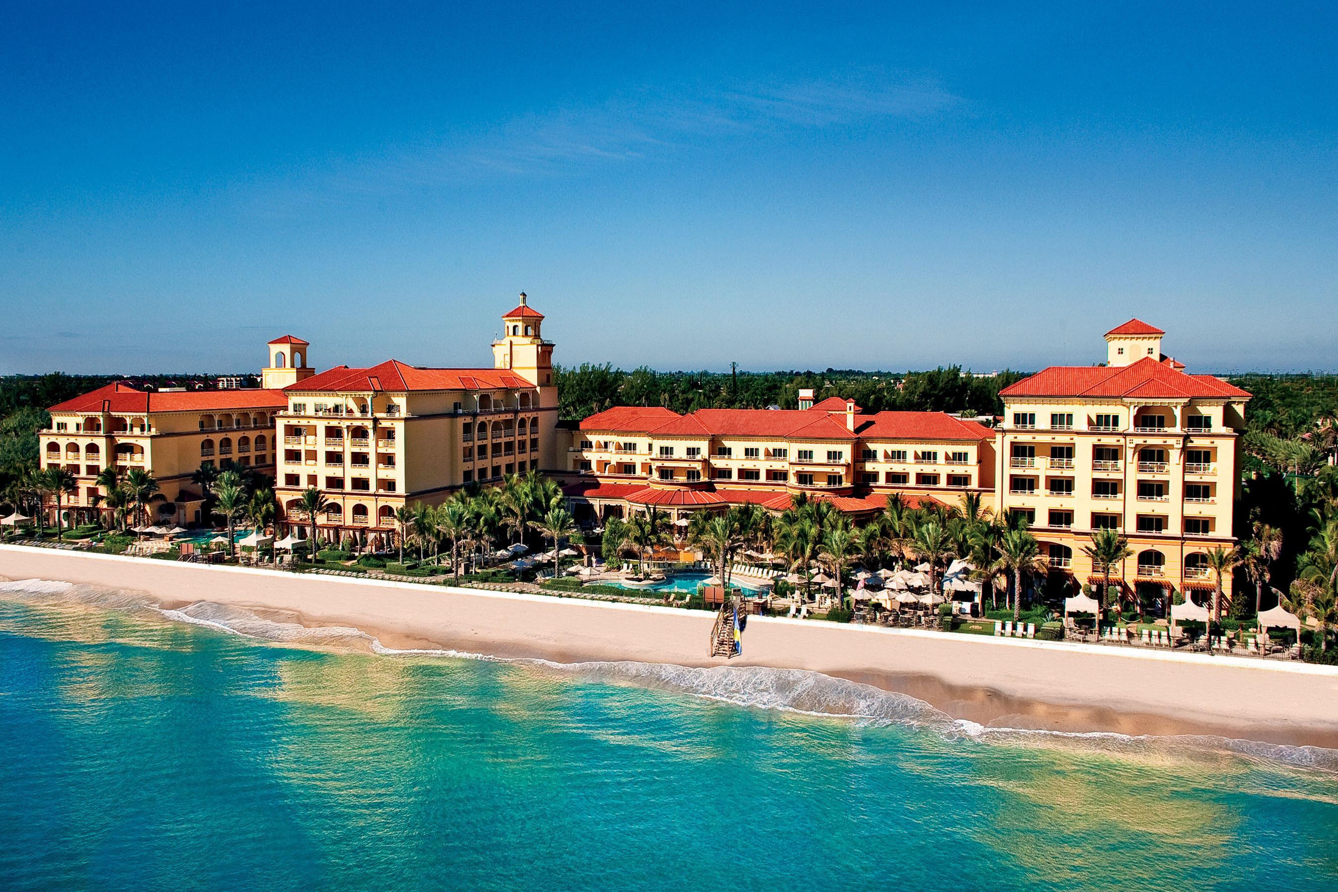 Aerial View of Eau Palm Beach Resort & Spa