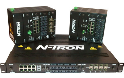 The new N-Tron NT24k modular Gigabit Ethernet industrial switch series from Red Lion Controls is available in rackmount and DIN rail configurations with up to 24 Gigabit Ethernet ports and an industrial-grade design. For more information, visit www.redlion.net/together.