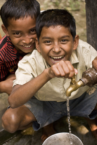 SMI's project will fund a school's piped water system in Bangladesh. (PRNewsFoto/SMI)