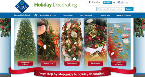 sams club offers seasonal 15 week membership for 15 - Sams Club Christmas Decorations