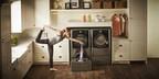 LG Front-Load Laundry Bundle with LG SideKick