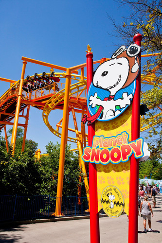 "Kings Island amusement park in Mason, Ohio, won the ""Best Kids' Area"" for the 13th consecutive year in Amusement Today's annual poll.  It's PEANUTS-themed rides and attractions for every age, including more kids' roller coasters than any other amusement park in the world inside its Planet Snoopy.  (PRNewsFoto/Cedar Fair Entertainment Company)"