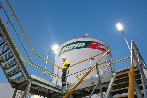 Puma Energy's global network of bulk storage fuel terminals reaches 100 after it announces a purchase agreement with BP to buy its bulk storage fuel terminal in Belfast, Northern Ireland. (PRNewsFoto/PUMA ENERGY)