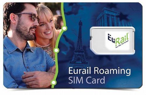 Eurail Roaming SIM Card (PRNewsFoto/Eurail Group G_I_E_)