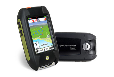 "Rand McNally's First Outdoor Handheld GPS Now Available! The new Foris(tm) GPS device is ""Trail Ready"" for hiking, biking and geocaching. Rand McNally's Foris(tm) 850 comes loaded with millions of miles of high-quality street and trail maps, a sturdy bike mount, and an easy-to-use interface with on-device help.  (PRNewsFoto/Rand McNally)"